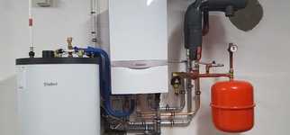 Raeymaekers Sanitair & Verwarming - Installatie CV ketel na